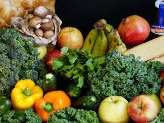 Voici plusieurs aliments frais